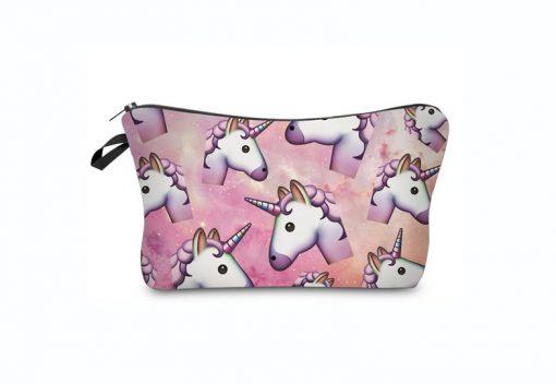 Emoji unicorn make up tasje