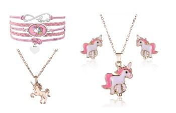 Unicorn armband, unicorn ketting, sieraden