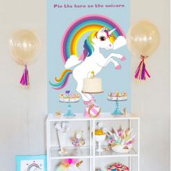 Unicorn spel voor verjaardagspartijtje