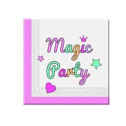 Unicorn Magic party servetten, goede kwaliteit