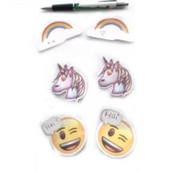 Unicorn sticky notes Emoji
