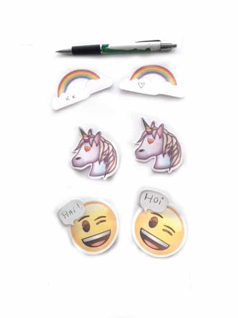 Unicorn sticky notes Emoji