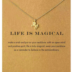Eenhoorn ketting Life is Magical
