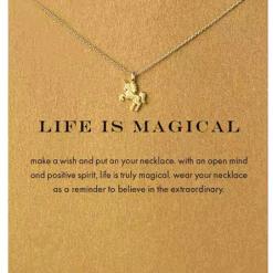 Eenhoorn ketting Life is Magical