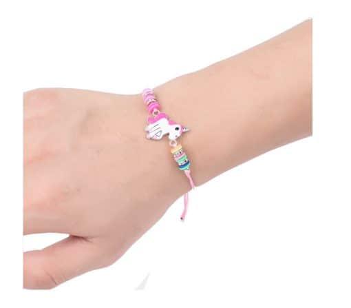 Eenhoorn armbandje, unicorn geluksarmbandje
