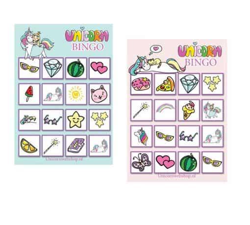 EEnhoorn spel bingo