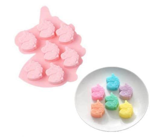 Eenhoorn silicone bakvorm voor koekjes of ijsklontjes
